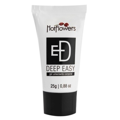Deep Easy Gel Anal Dessensibilizante 25g - Hot Flowers