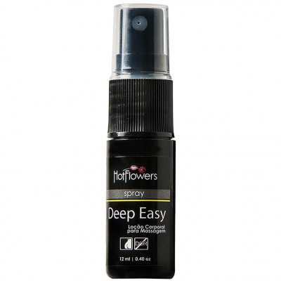 Deep Easy Spray Loção Anal Dessensibilizante - 12ml - Hot Flowers