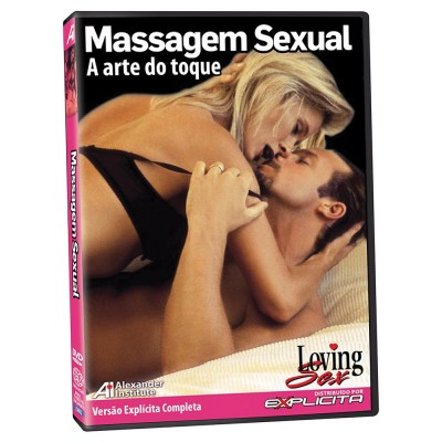 DVD Erótico Massagem Sexual - Loving Sex