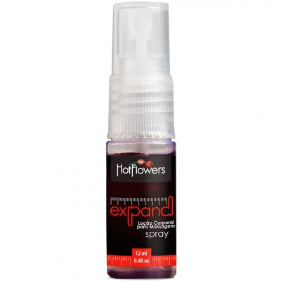 Expand Spray Loção Excitante - 12ml - Hot Flowers