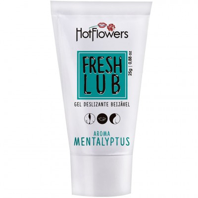 Fresh Lub Gel Lubrificante Beijável Mentalyptus - 25g - Hot Flowers
