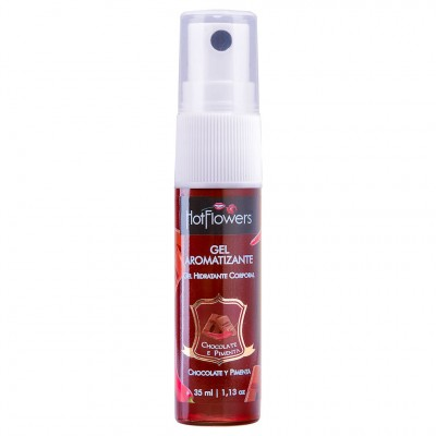 Gel Comestível Aromatizante Hot - Chocolate com Pimenta - 35ml