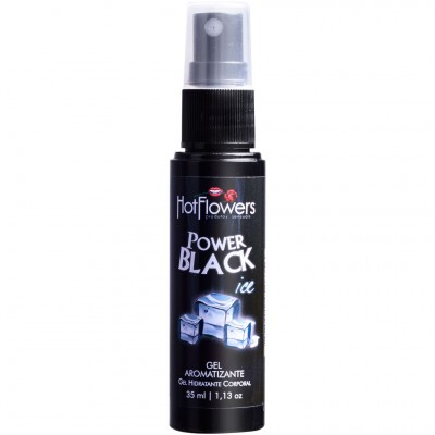 Gel Comestível Aromatizante Iced - Power Black - 35ml