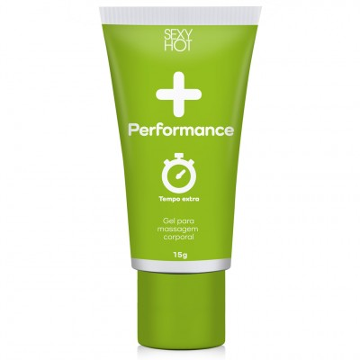 Gel Masculino para Massagem Performance Sexy Hot - Menta - 15g