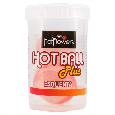 Hot Ball Plus Esquenta Bolinha do Prazer Hot Flowers